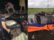 Tin tức trong ngày - Dân đốt rụi ô tô Fotuner vì nghi 2 người trên xe bắt cóc trẻ em