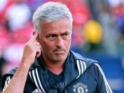MU thắng lớn Man City, Mourinho chỉ coi như trận đá tập