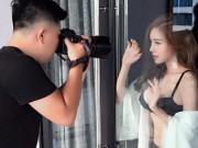Tuyệt chiêu để có ảnh nội y cực khêu gợi cùng Elly Trần