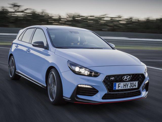 Xe thể thao hiệu suất cao Hyundai i30 N ra mắt