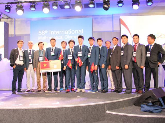 """Lần đầu tiên Việt Nam đoạt giải """"khủng"""" tại kỳ Olympic Toán quốc tế"""