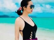 """Mỹ nhân Việt ngoại tứ tuần vẫn nóng  """" hừng hực """"  với bikini"""