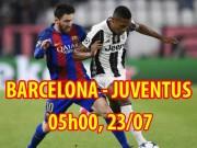 Barcelona - Juventus: Triều đại mới vẫn nặng gánh Messi