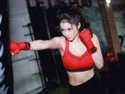 Loạt kiều nữ Việt đẹp sexy đầy sức mạnh trên sàn đấm bốc