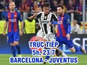 Chi tiết Barcelona - Juventus: Barca bỏ lỡ liên tiếp (KT)