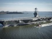 Hải quân Mỹ nhận tàu sân bay 13 tỉ USD mạnh nhất thế giới