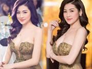 """"""" Bạn gái Noo Phước Thịnh """"  gây mê với váy mỏng tang, trễ nải"""