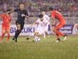 """Công Phượng  """" nhảy múa """"  giữa 4 cầu thủ Hàn Quốc, vẽ kiệt tác"""