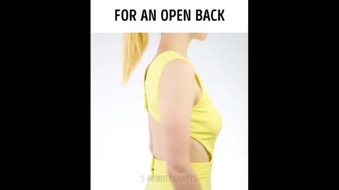 Chị em thích lộ lưng trần không thể bỏ qua chiêu này!