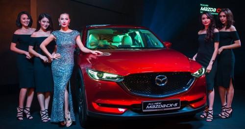 """Mazda CX-5 thế hệ mới ra mắt Singapore, giá """"chát"""" 2,7 tỷ đồng"""