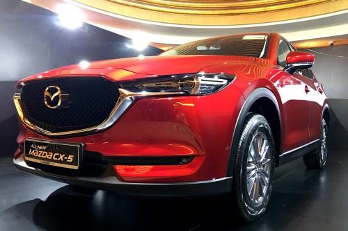Mazda CX-5 thế hệ mới ra mắt Singapore, giá 'chát' 2,7 tỷ đồng - 2