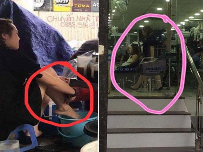 Đã có quyết định xử phạt người quay clip dùng nước rửa chân pha trà