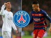 """Bóng đá - Ronaldo """"phá đám"""" PSG, khuyên Neymar tới MU"""