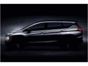 Mitsubishi Expander - đối thủ mới của Suzuki Ertiga lộ diện