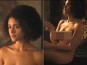 Cô hầu gái của Mẹ Rồng khỏa thân hâm nóng Game of Thrones 7