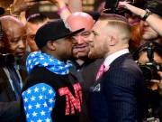 """Thể thao - Mayweather giàu gấp 10 vẫn thua xa McGregor về """"độ chịu chơi"""""""