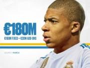 Real  & amp; Monaco chốt giá: Bom tấn Mbappe 180 triệu euro sắp nổ