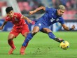 """Clip U23 Indonesia  """" chặt chém """"  Thái Lan trước thềm SEA Games"""