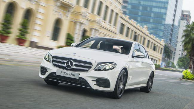 6 tháng đầu 2017, người Việt tiêu thụ 2.900 xe Mercedes - 2