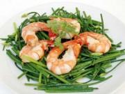 """Sức khỏe đời sống - Tôm biển - Thực phẩm cho chàng """"yếu thế"""""""
