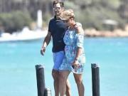 """Federer nghỉ ở khu tỷ phú, vợ diện bikini đẹp phát  """" ngất """""""