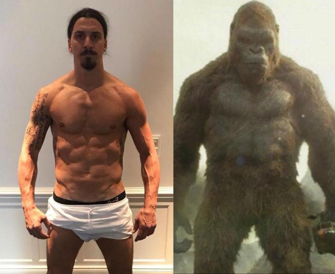 """King Kong"" Ibrahimovic hồi phục thần kỳ, quyết tái ngộ MU - 1"