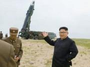 Triều Tiên công bố hình ảnh chưa từng có về tên lửa