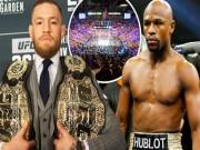 """Thể thao - """"Người dơi"""" McGregor tung độc chiêu karate dọa Mayweather"""
