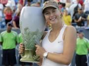 """Sharapova nhận  """" quà lớn """"  trước thềm US Open 2017"""