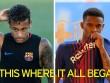 Barca trước  El Clasico : Neymar hành hung đồng đội mới
