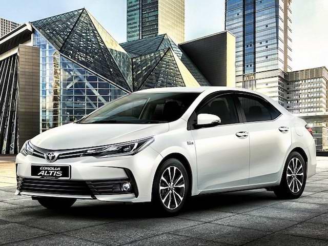 Toyota Corolla Altis 2017 chuẩn bị ra mắt Việt Nam