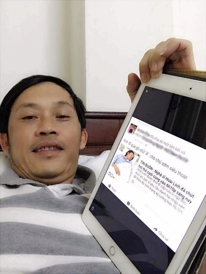 Sao Việt 30/7: Hoài Linh bị đồn qua đời và sự thực ngã ngửa