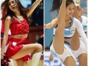 Nữ hoạt náo viên khiến cầu thủ Hàn sung sức hơn cả uống nhân sâm