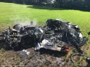 Anh: Phá tan tành siêu xe 8 tỉ sau khi mua 1 giờ
