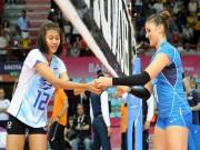 Thể thao - Bóng chuyền nữ: Thái Lan công dữ dội, Italia vững như núi