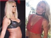 """Choáng khi  """" gái béo """"  Britney Spear  """" lột xác """"  thành công chúa xinh đẹp"""