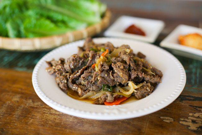 Thịt bò xào kiểu Hàn cực tốn cơm - 5