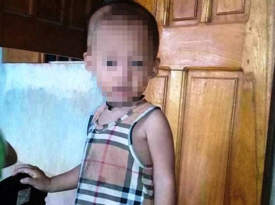 Tìm thấy thi thể cháu bé 2 tuổi ở Thanh Hóa mất tích