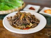 Ẩm thực - Thịt bò xào kiểu Hàn cực tốn cơm