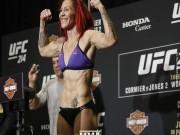 """Thể thao - UFC: """"Nữ thần hủy diệt"""" lên gối như giã gạo, giành ngai vàng"""