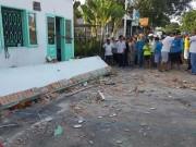 Hiện trường vụ sập ban công nhà cấp bốn, 3 người tử vong
