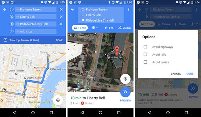 Xem Ảnh đọc báo tin tức Dùng Google Maps để biết những tuyến đường thu phí, bến phà - Công nghệ thông tin - Tin tức 24h và truyện phim nhạc xổ số bóng đá xem bói tử vi 2 ban do