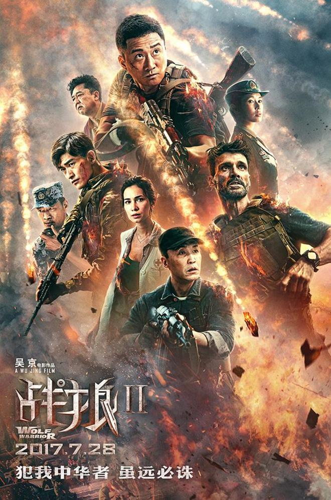 Chiến lang 2 của Ngô Kinh phá vỡ kỷ lục phòng vé Trung Quốc - 1