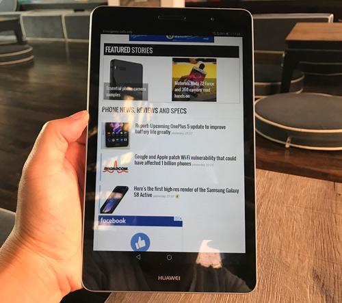 Đánh giá Huawei MediaPad T3-8: Thiết kế đẹp, nghe-gọi tốt, giá rẻ - 1