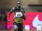 Thể thao - Huyền thoại Usain Bolt: Sắp giải nghệ vẫn chạy 100m 9,95 giây