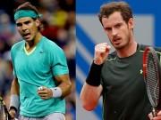 "BXH tennis 31/7: Nadal  "" uy hiếp ""  Murray, Wawrinka hạ bệ Djokovic"