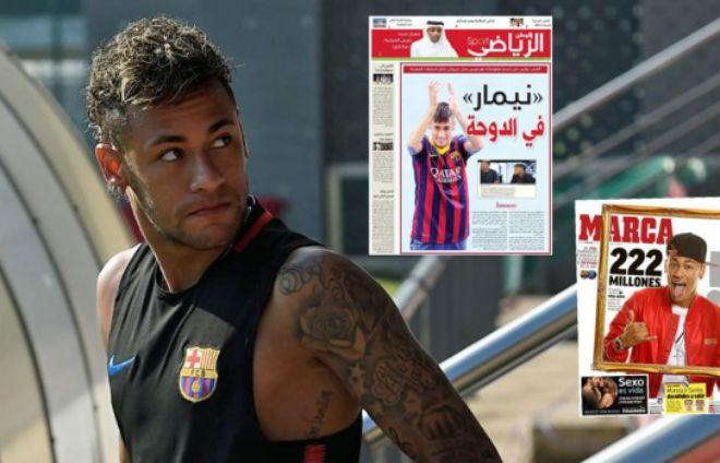 """PSG - Neymar: """"Lách luật"""" bằng 270 triệu bảng, kiểm tra y tế hôm nay"""