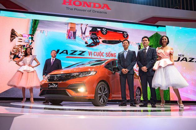 6 mẫu xe Honda nổi bật tại VMS 2017