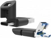 Đã có USB tích hợp 3 cổng: USB thường, USB-C và microUSB