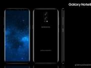 Dế sắp ra lò - Galaxy Note 8 xuất hiện bản màu Đen Midnight đẹp mê hồn